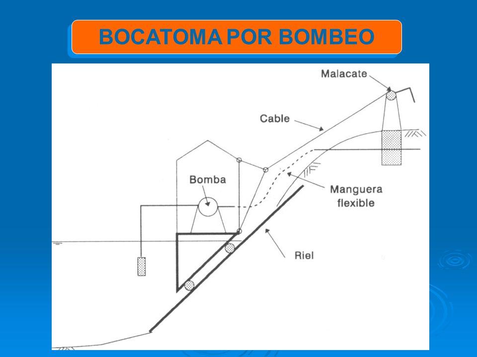 BOCATOMA POR BOMBEO
