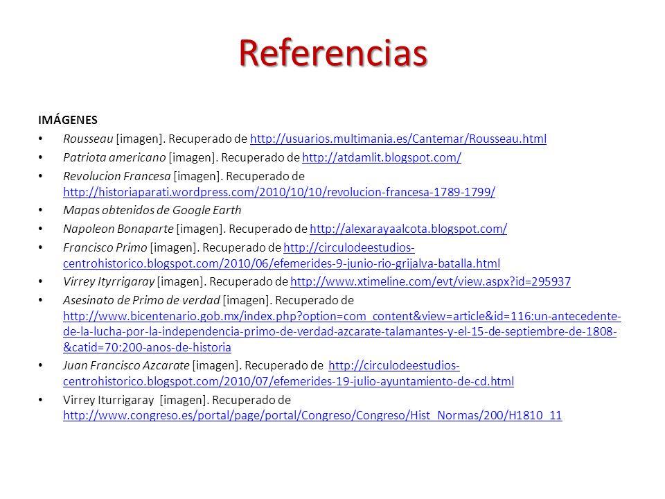 IMÁGENES Rousseau [imagen]. Recuperado de http://usuarios.multimania.es/Cantemar/Rousseau.htmlhttp://usuarios.multimania.es/Cantemar/Rousseau.html Pat