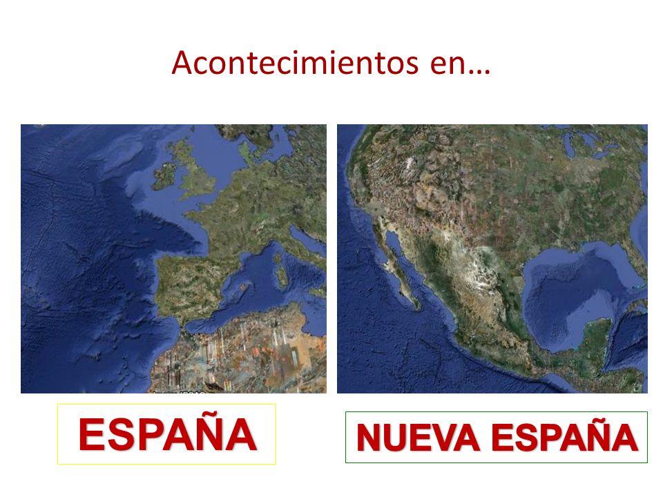 Acontecimientos en… ESPAÑA