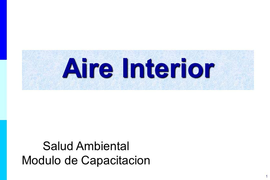 1 Aire Interior Salud Ambiental Modulo de Capacitacion