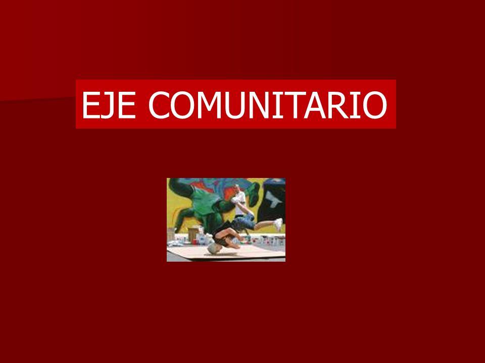 EJE COMUNITARIO
