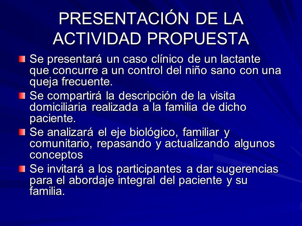 CASO CLÍNICO ASEC: El paciente es usuario de Salud Pública (si bien es probable que comience a atenderse en Sanidad militar, donde tendrá derecho a atenderse una vez que su padre quede efectivo en su trabajo).