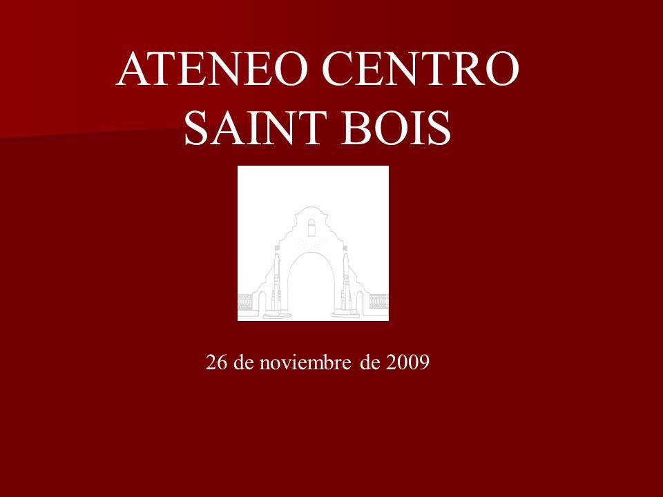 ATENEO CENTRO SAINT BOIS 26 de noviembre de 2009