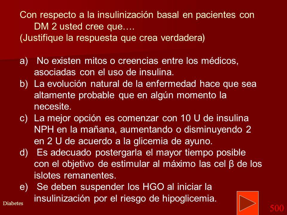 Volver Memograma Diabetes 400 –Para el control de la diabetes mellitus deben considerarse parámetros bioquímicos y clínicos: HEMOGLOBINA GLICOSILADA H