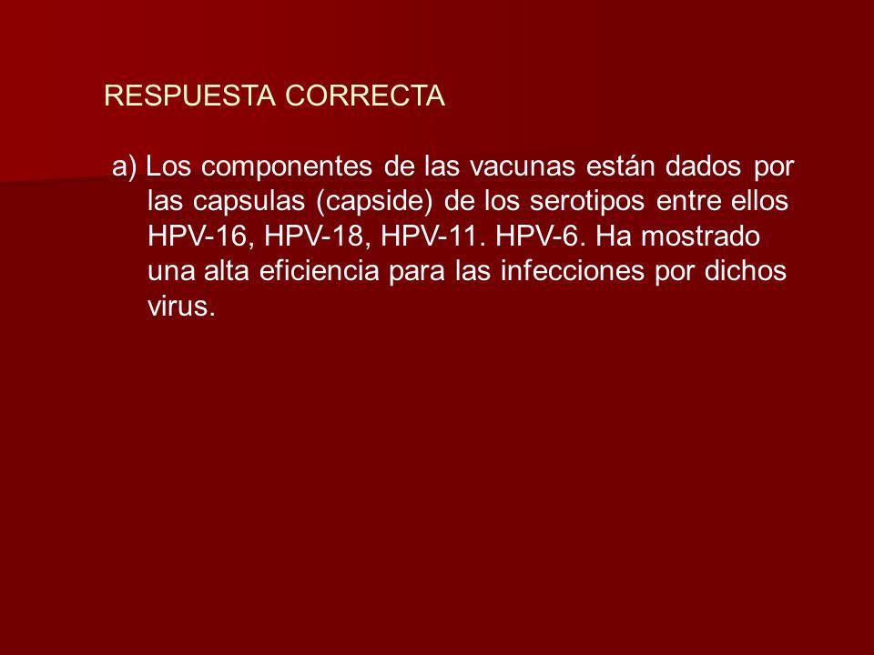 Salud de la Mujer 300 En una de las consultas la paciente pregunta si esta indicada la vacuna del HPV para su hija de 12 años. Con respecto a esta vac