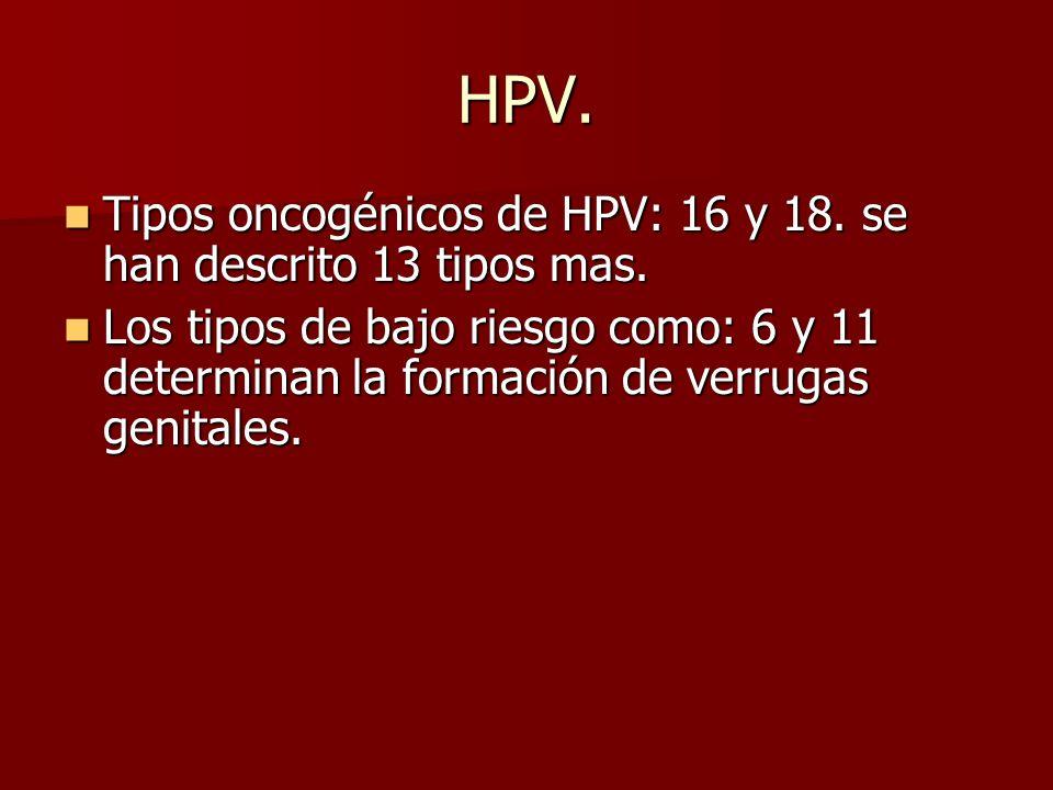 RESPUESTA CORRECTA a) Los componentes de las vacunas están dados por las capsulas (capside) de los serotipos entre ellos HPV-16, HPV-18, HPV-11. HPV-6