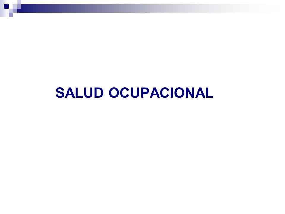 Enfermedad Profesional Definida en nuestra legislación:...La causada por agentes físicos, quimicos o biológicos utilizados o manipulados durante la actividad laboral o que estén presentes en el lugar del trabajo.