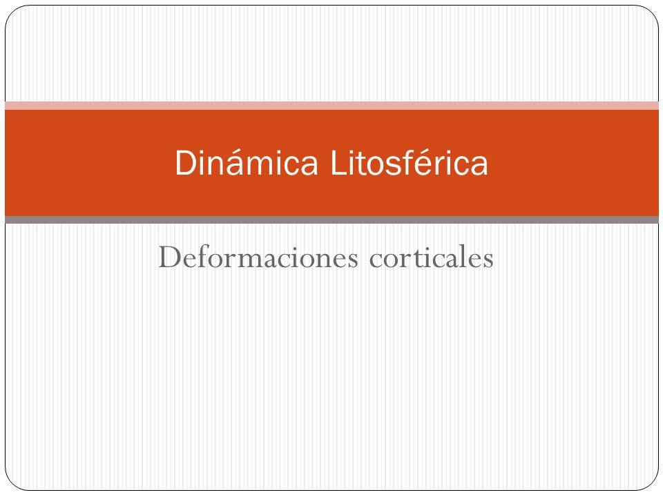 Deformaciones corticales Dinámica Litosférica