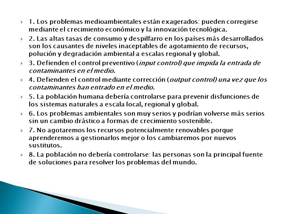 Ejercicio. MADRID / SEPTIEMBRE 2002 - LOGSE / CIENCIAS DE LA TIERRA Y DEL MEDIO AMBIENTE / DESARROLLO SOSTENIBLE / OPCIÓN A / EJERCICIO 3 www.profes.n
