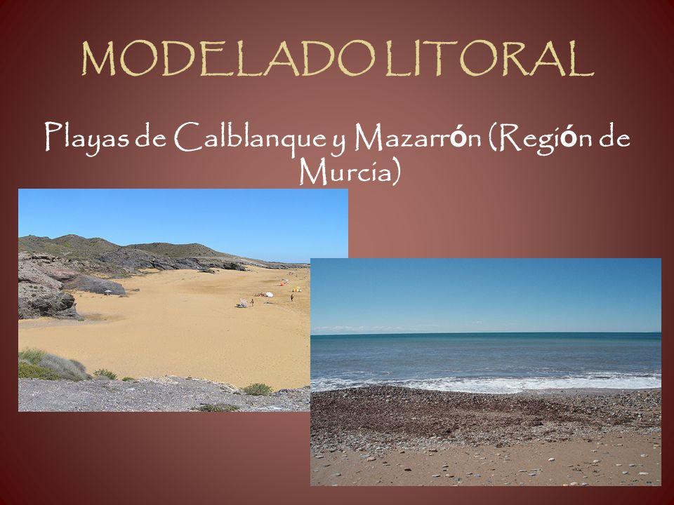 MODELADO LITORAL Playas de Calblanque y Mazarr ó n (Regi ó n de Murcia)