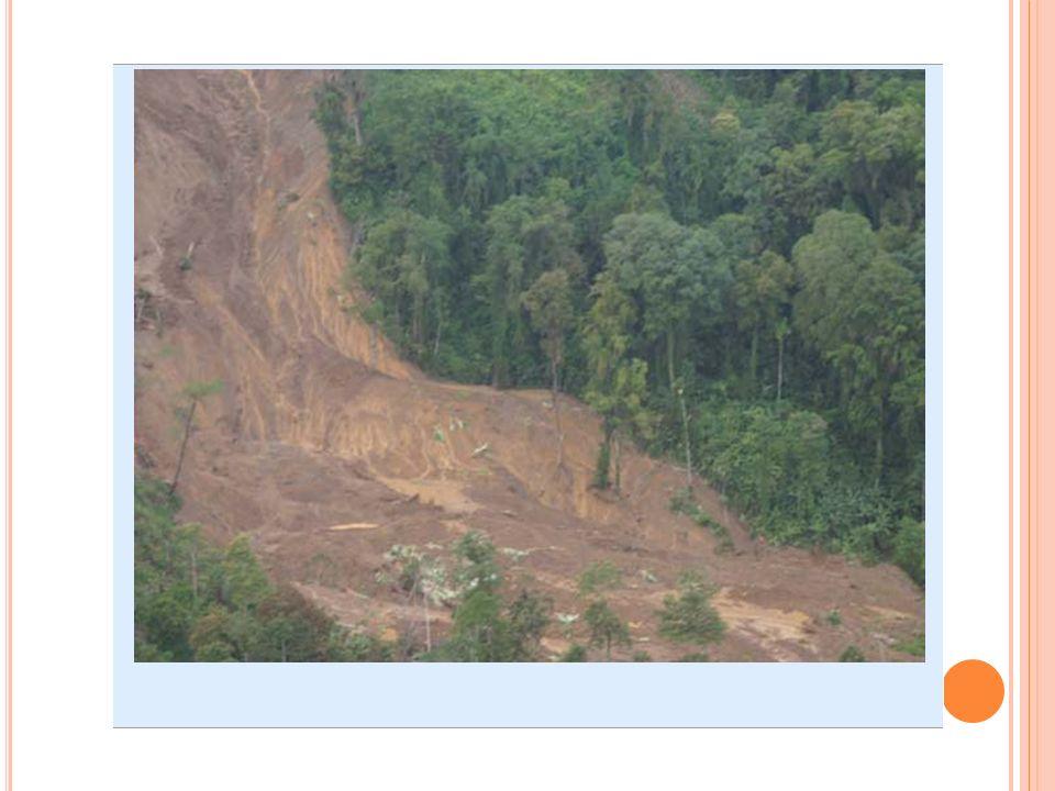 P REVENCIÓN Evitar asentamientos en zonas de riesgo. Medias correctoras. o Modificación de la geometría del terreno (de la pendiente). o Construcción