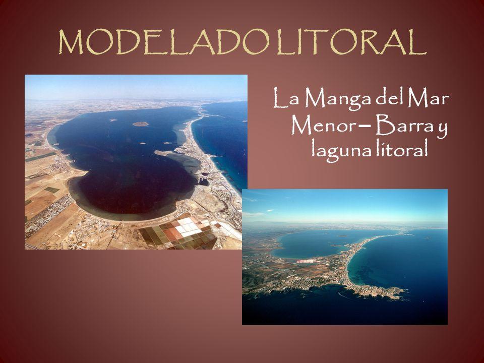 MODELADO LITORAL La Manga del Mar Menor – Barra y laguna litoral