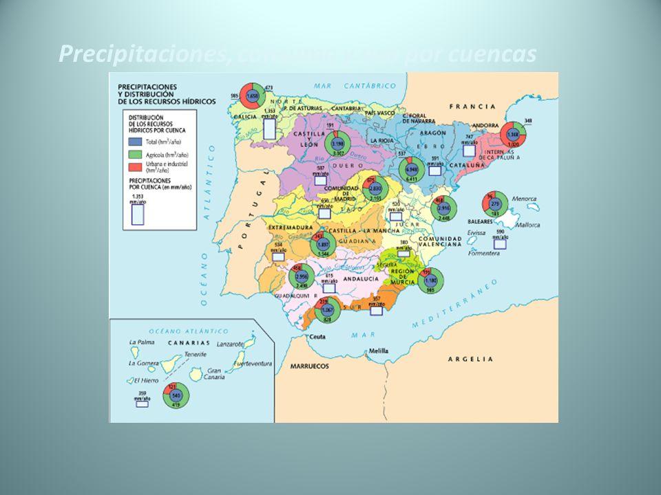 Impactos producidos por obras civiles fluviales Presas o embalses Modificación del sistema fluvial.