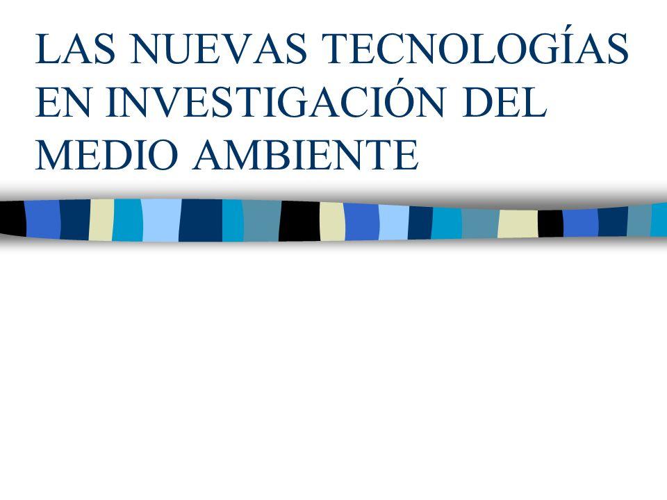 SISTEMAS INFORMÁTICOS Y SIMULACIÓN MEDIOAMBIENTAL Los grandes problemas de información medioambiental son: 1.