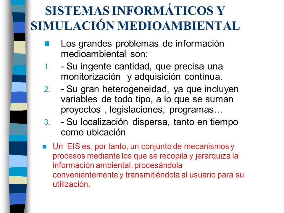 Naturaleza de la información medioambiental La información medioambiental se concreta, básicamente, en tres categorías: 1.