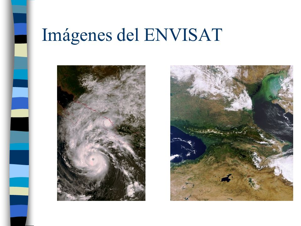 Imágenes del ENVISAT
