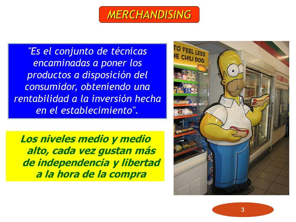 3 Los niveles medio y medio alto, cada vez gustan más de independencia y libertad a la hora de la compra