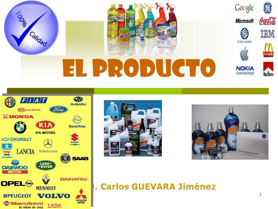 1 Prof.: J. Carlos GUEVARA Jiménez El producto