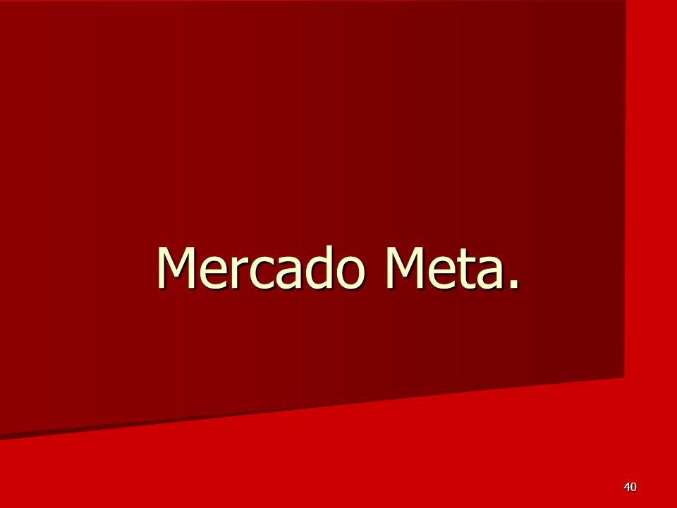 40 Mercado Meta.