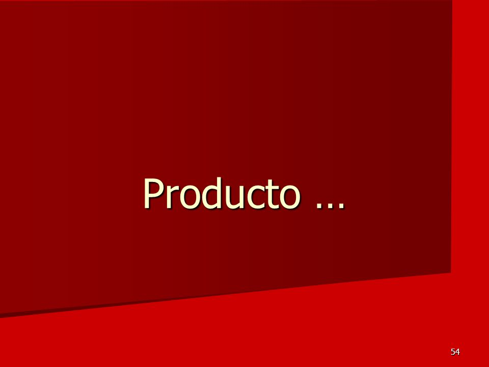 54 Producto …