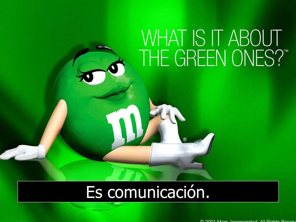 61 Es comunicación.