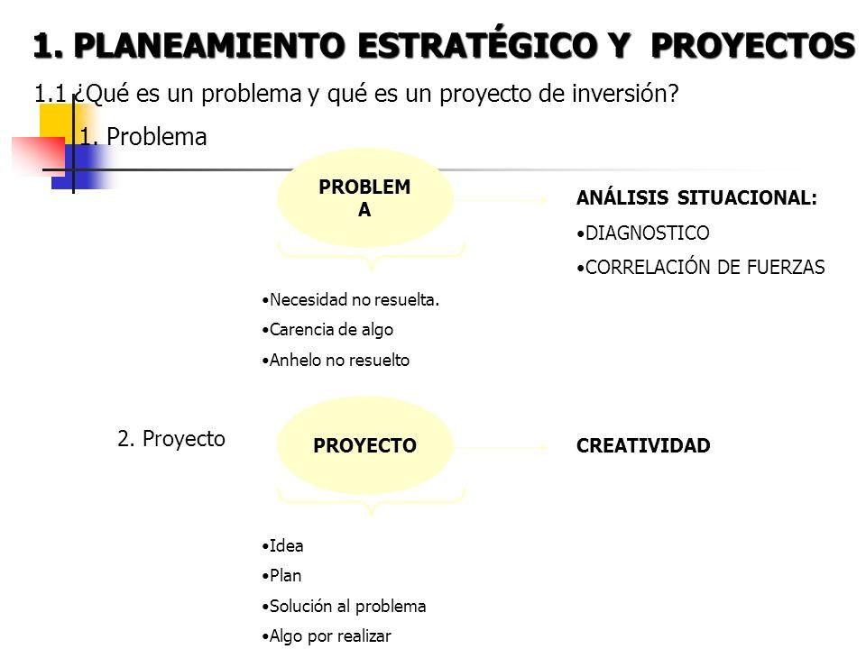 ESTUDIO DE LOS PROYECTOS DE INVERSIÓN