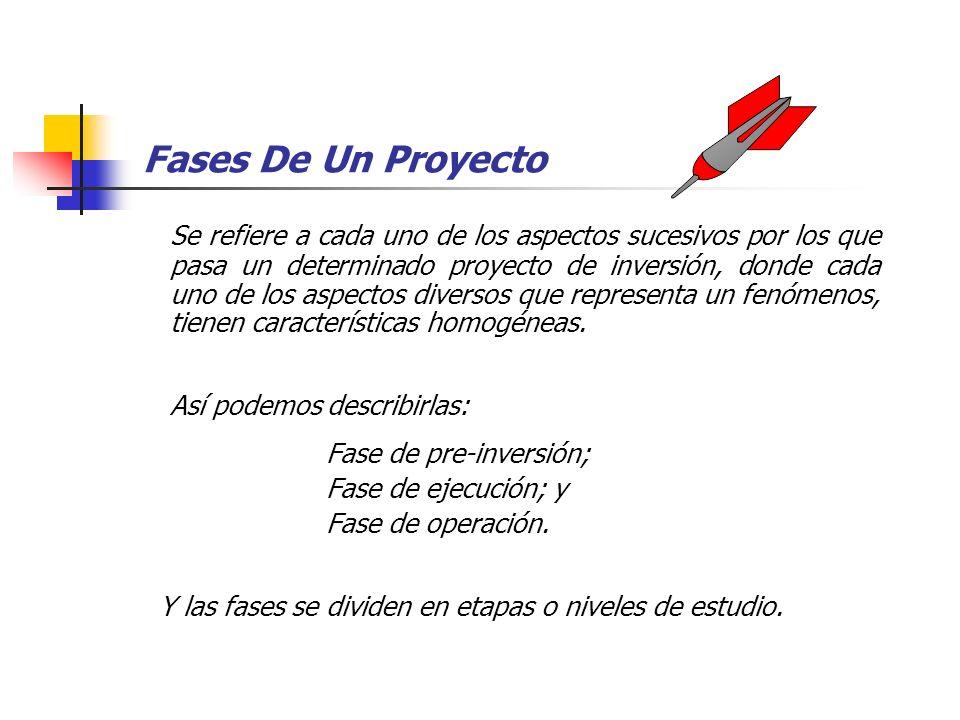 Ciclo Vital De Un Proyecto El ciclo vital de un proyecto es un proceso que se inicia con la identificación de la idea y culmina al final de su vida út