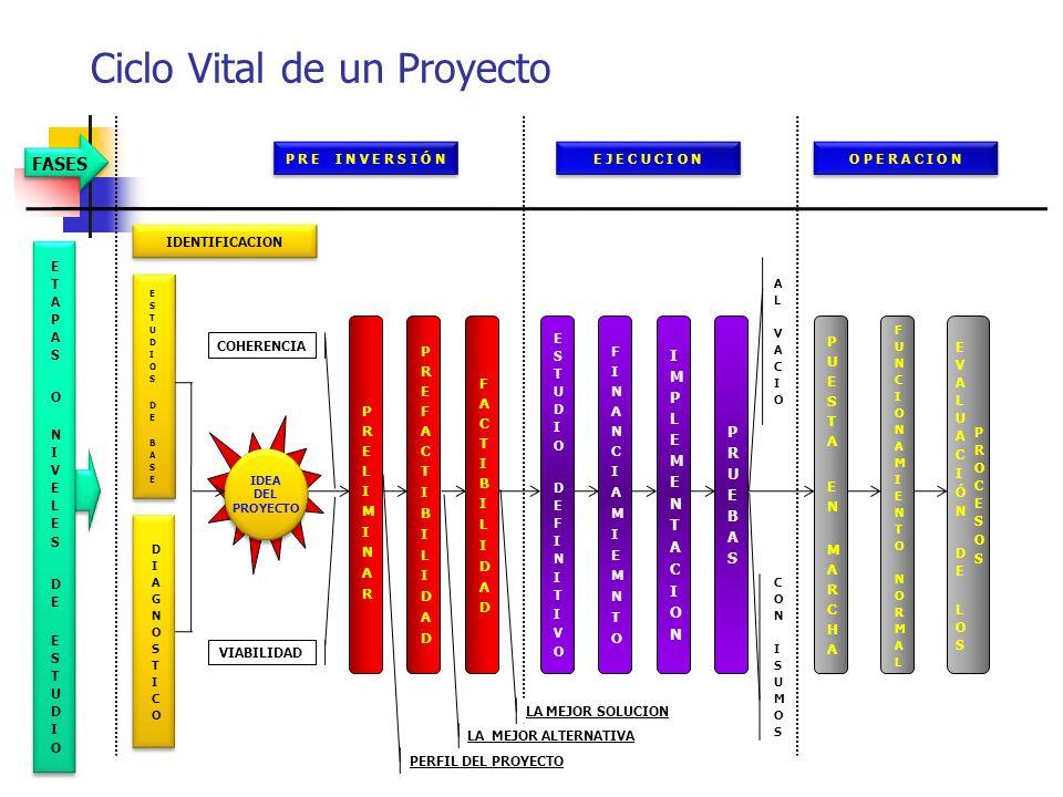 Fases De Un Proyecto Se refiere a cada uno de los aspectos sucesivos por los que pasa un determinado proyecto de inversión, donde cada uno de los aspe