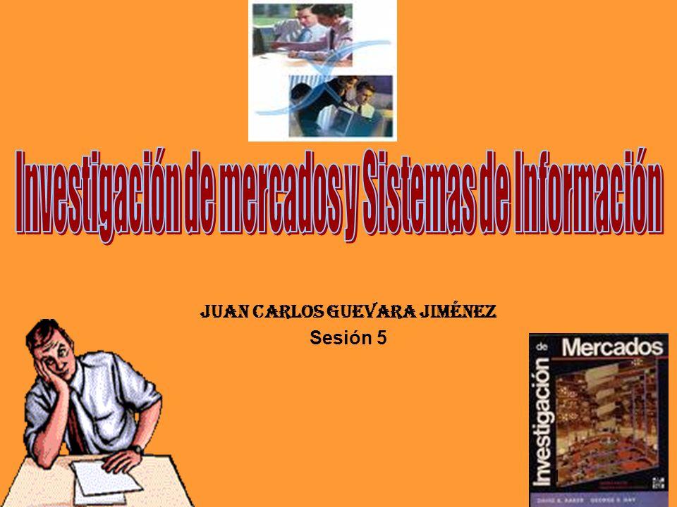 Juan Carlos GUEVARA Jiménez Sesión 5 1