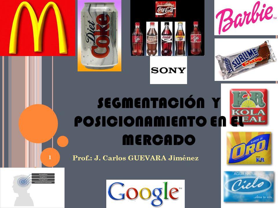 I MAGEN Y P OSICIONAMIENTO Imagen Como las marcas en la mente de los consumidores están relacionadas con los atributos propios del producto Posicionamiento Cómo los consumidores perciben una marca en relación a otras Preferencia de marca Percepción del grado de superioridad de una marca en relación a los beneficios claves del producto 21 Consumidor Competidor