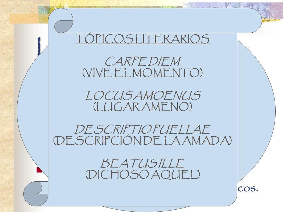 La lírica renacentista Influenciada por la poesía clásica y por Italia. Renovación temática, métrica y estilística. Temas: el amor, la naturaleza, la