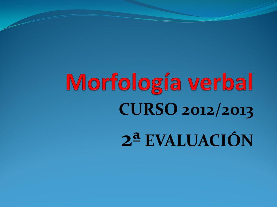 CURSO 2012/2013 2ª EVALUACIÓN