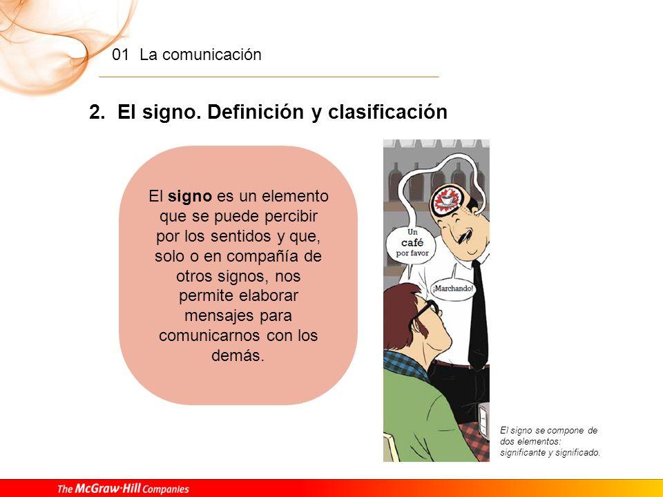 01 La comunicación 1. La comunicación Comunicación verbal y no verbal Los actos de comunicación humana no solo se basan en el intercambio de conversac