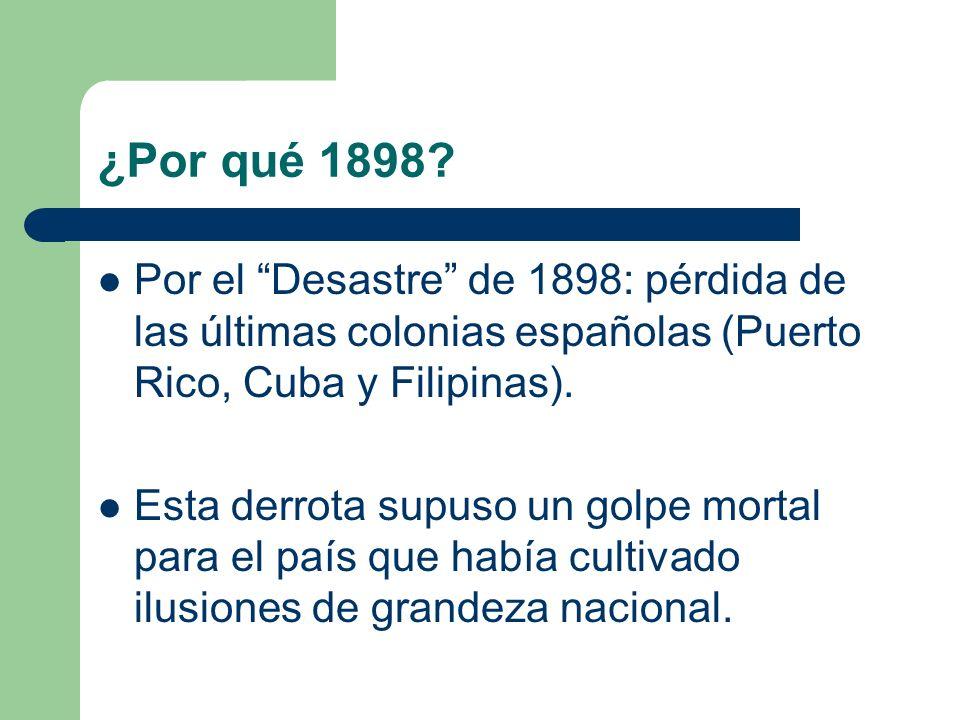 ¿Por qué 1898.