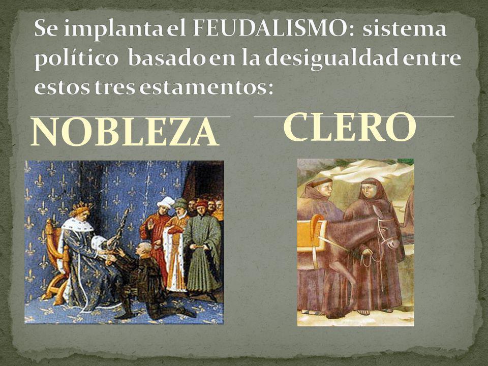 NOBLEZA CLERO