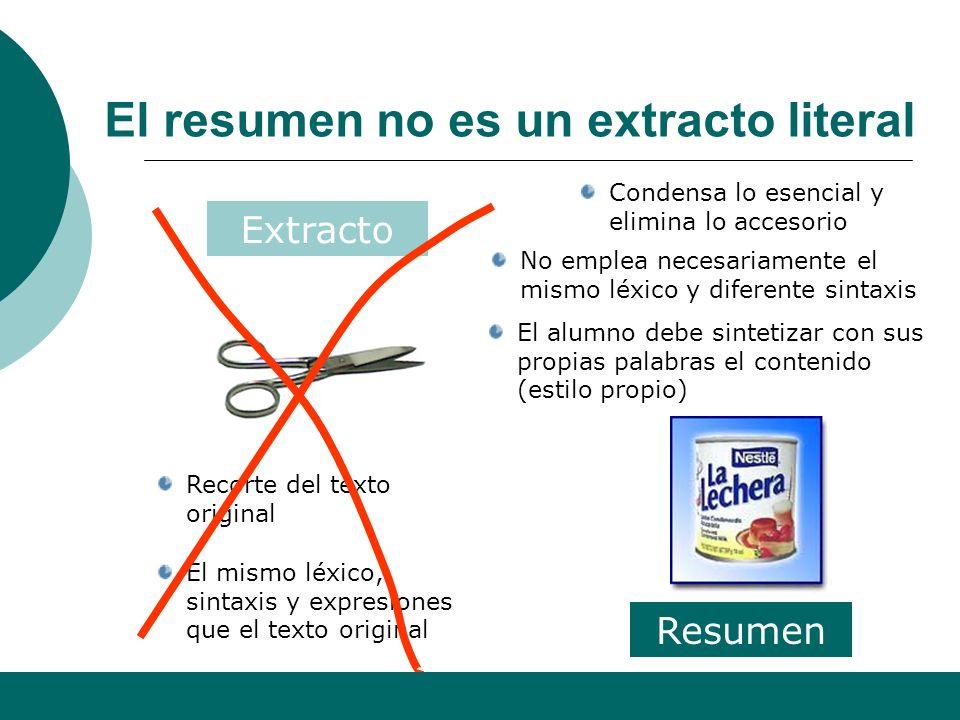 Alfonso Sancho Rodríguez 9 B) El resumen (1 punto). El resumen es la segunda cuestión que has de resolver dentro de la primera pregunta del comentario