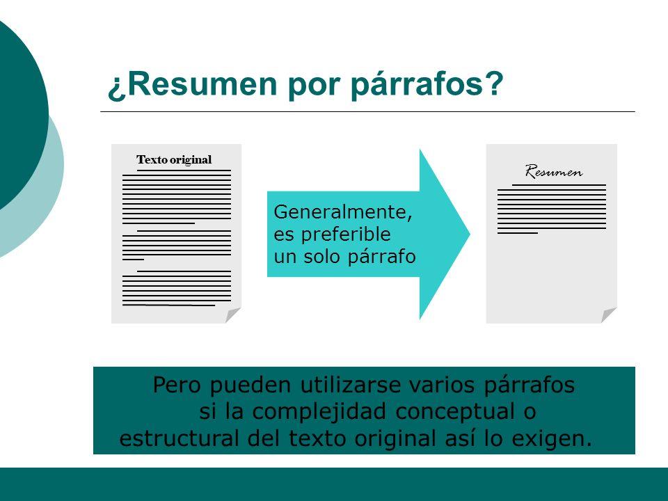 Alfonso Sancho Rodríguez 12 Extensión ideal Debe ser breve y conciso, pero completo. Para los textos que se suelen seleccionar en las P.A.U. de la CV,