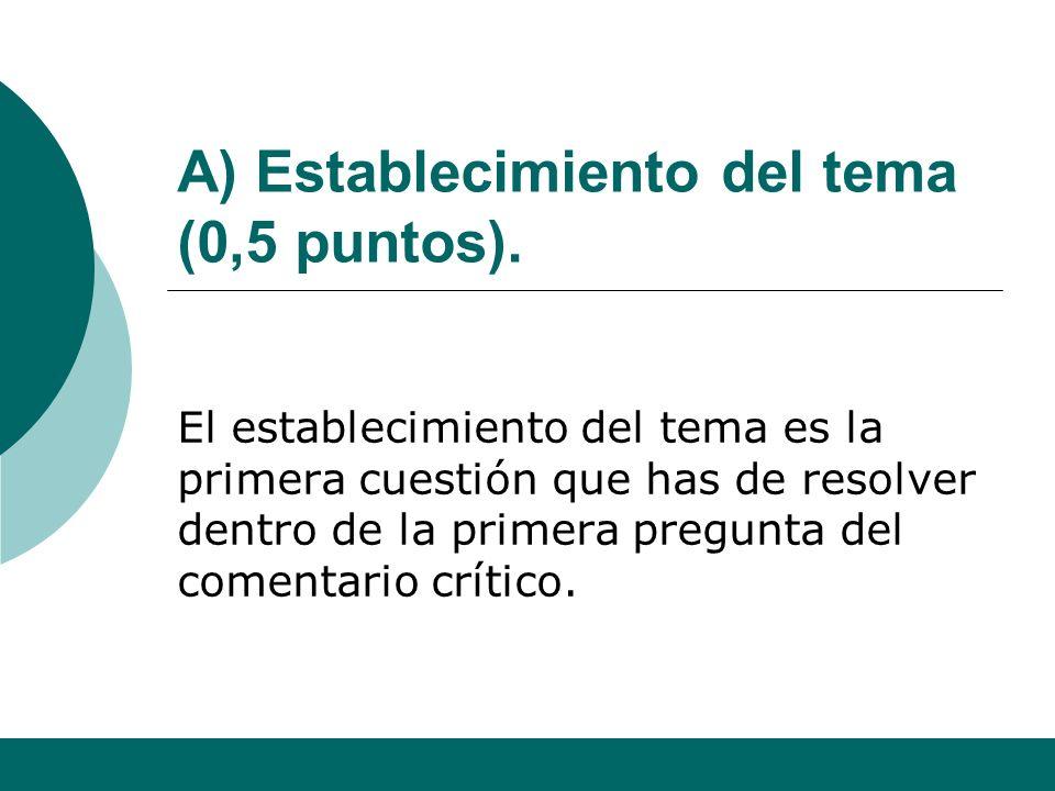Alfonso Sancho Rodríguez 3 1.1. Establecimiento del tema, breve resumen de su contenido y explicación de su esquema organizativo (3 puntos). Esta es l