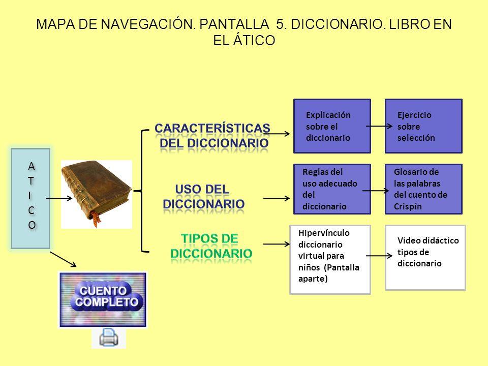 MAPA DE NAVEGACIÓN. PANTALLA 7 BICICLETA