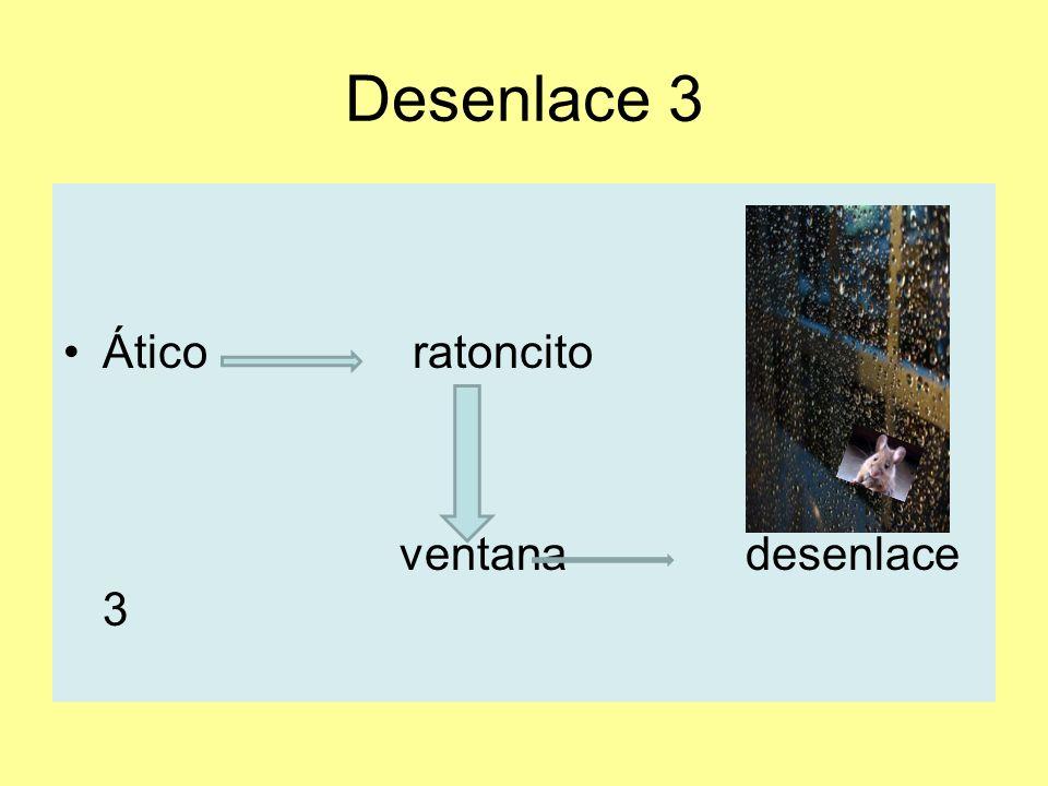 Desenlace 3 Ático ratoncito ventana desenlace 3