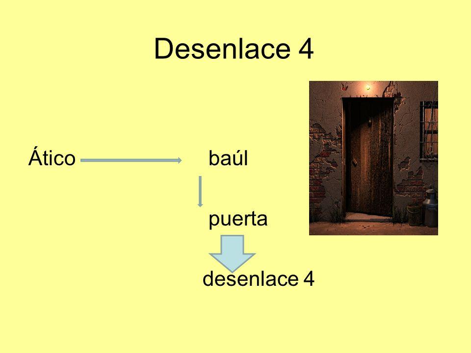 Desenlace 5 Ático niños ventana (niños) desenlace 5
