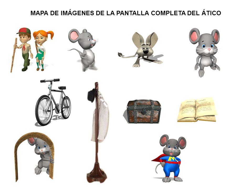 MAPA DE IMÁGENES DE LA PANTALLA 4.