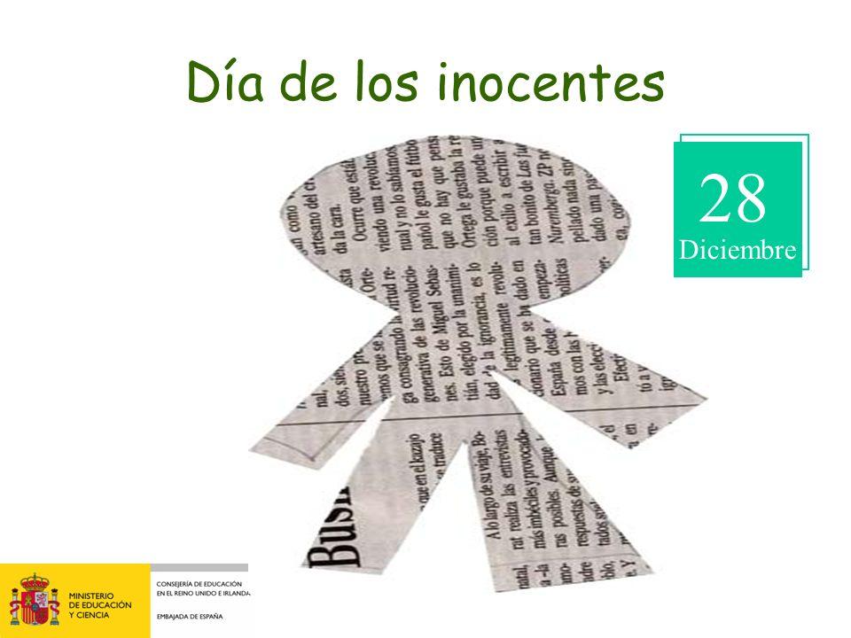Día de los inocentes 28 Diciembre