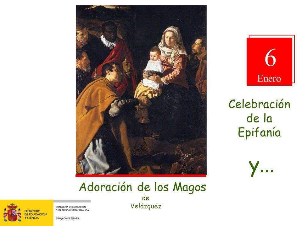 6 Adoración de los Magos de Velázquez Celebración de la Epifanía y...