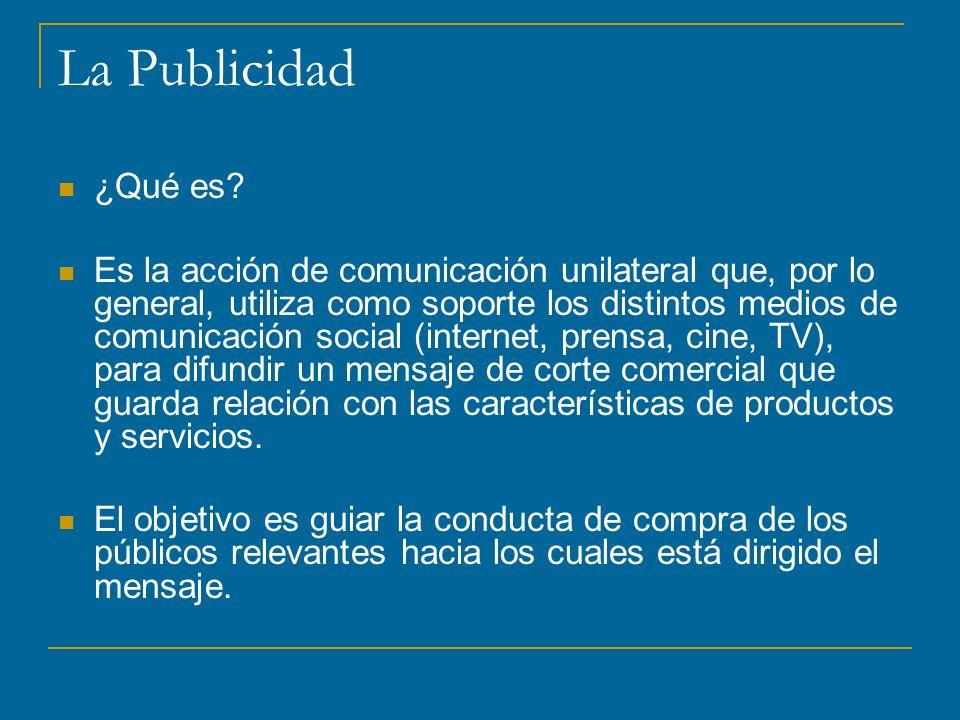 La Publicidad ¿Qué es.