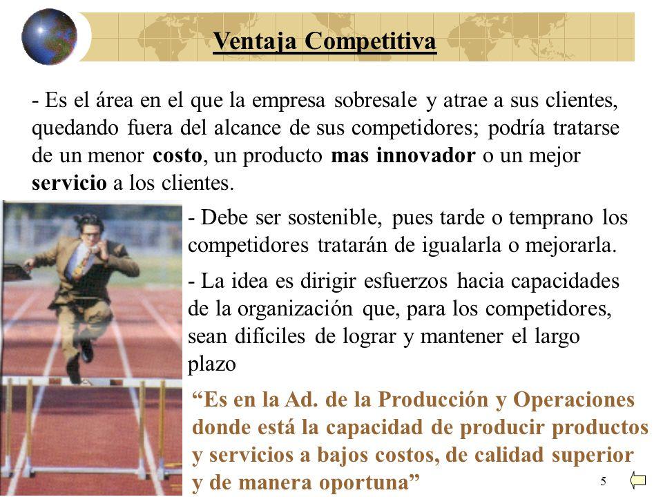 4 Exigencias para la Empresa (Organización) Las empresas deben ser: Expeditas Agiles Flexibles Competitivas Innovadoras Eficientes Eficaces Enfocadas