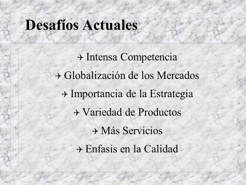 El Entorno de los Negocios Q Globalización Q Competencia Q Bajos Precios Q Calidad Q Estrategia Q Concentración Q Medio Ambiente Q Tecnificación