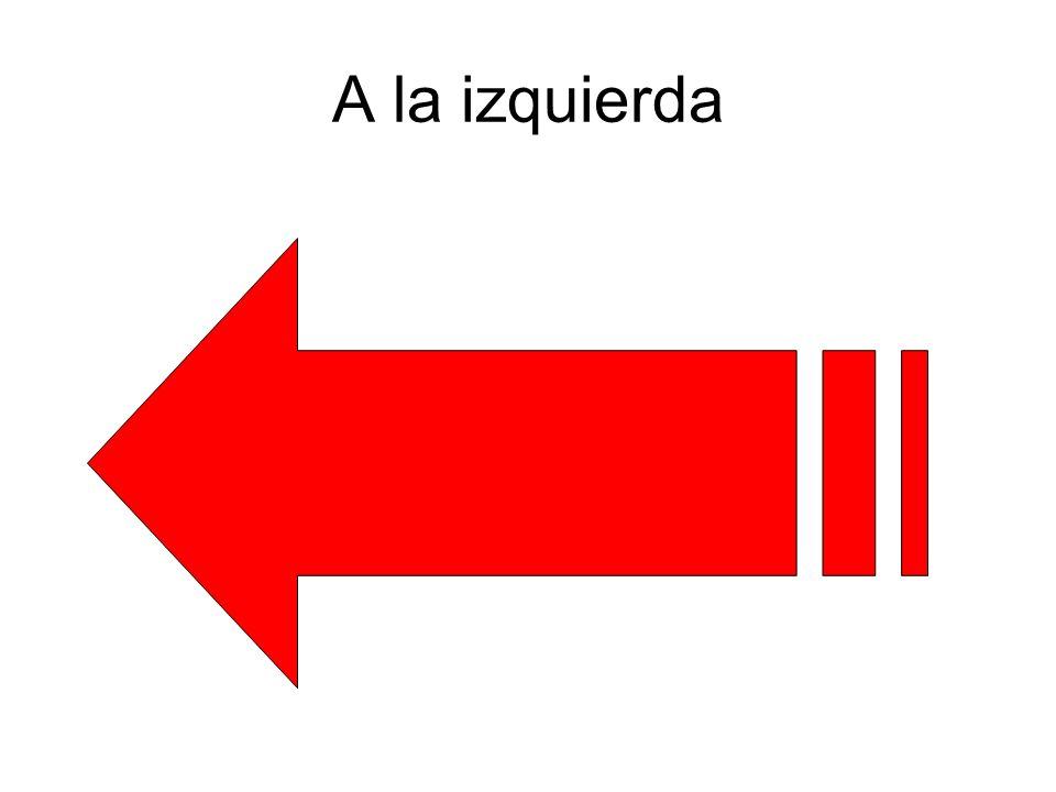 A la izquierda