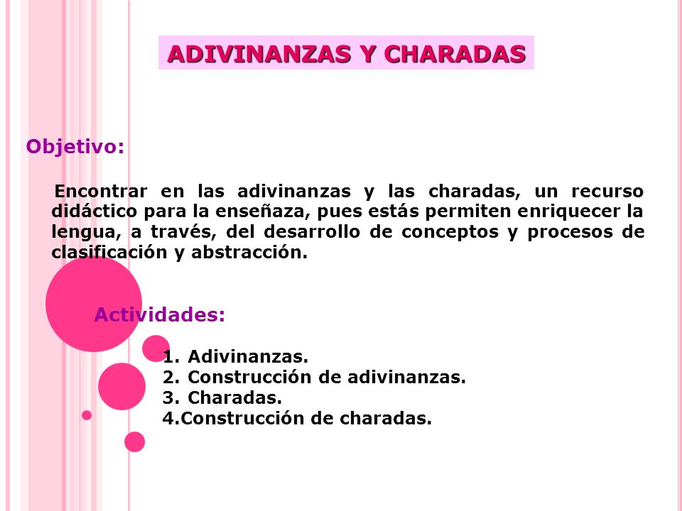 CHARADAS