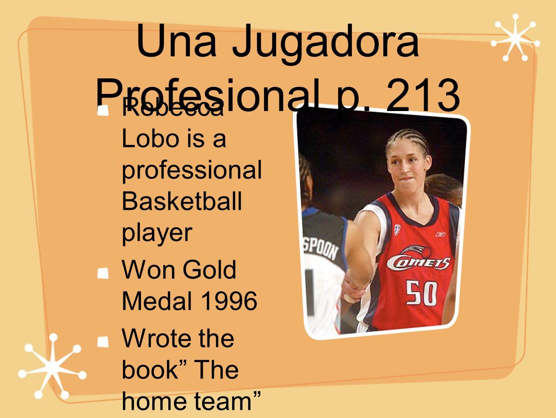 Una Jugadora Profesional p.